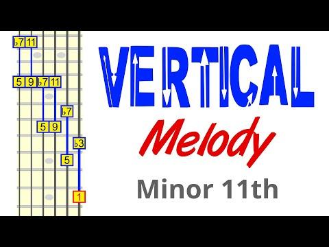 Turn The Minor 11th Arpeggio Into A Vertical Melody Roadmap