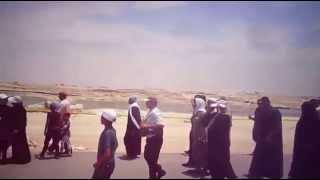 قناة السويس الجديدة مصر: مواطنون يرقضون ويغنون وزغاريد فرحا بالقناة