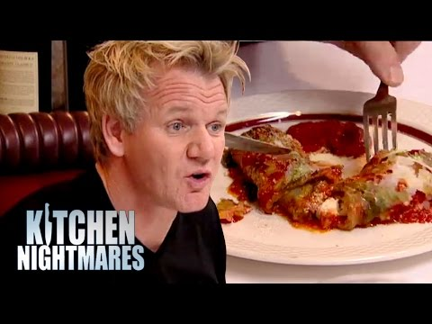 'Fresh Eggplant' Was Actually Made THREE WEEKS AGO! | Kitchen Nightmares