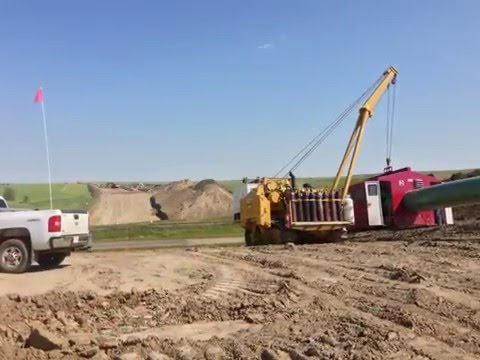 Pipeline Construction In Alberta Canada