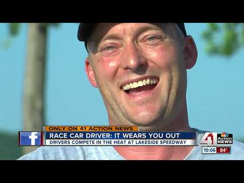 Hot weather in metro doesn't stop Lakeside Speedway drivers
