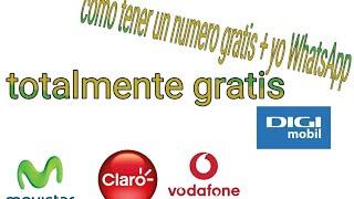 Como tener numero de telefono virtual gratis en españa, mexico 2018