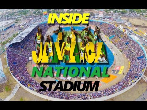 Inside Jamaica National Stadium (Champs 2017)