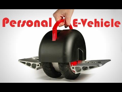 Solowheel Iota - A Mini Personal E-Vehicle By INventist