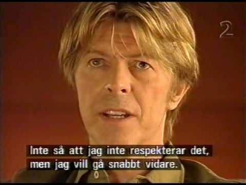 David Bowie - About The Music Industry (Swedish Television 2002)