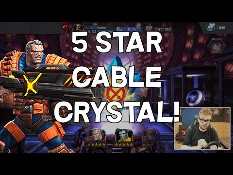 5 Star Cable Crystal Opening - Marvel Contest Of Champions