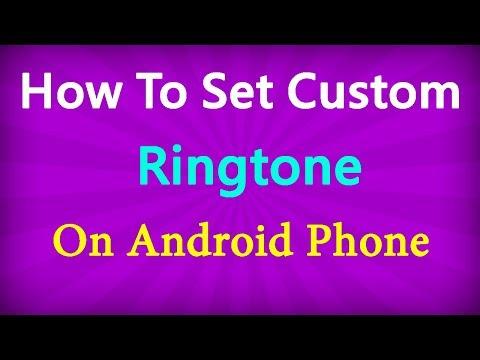 কিভাবে এন্ড্রয়েড মোবাইলে রিংটোন সেট করবেন | How to set custom Ringtone on Android phone
