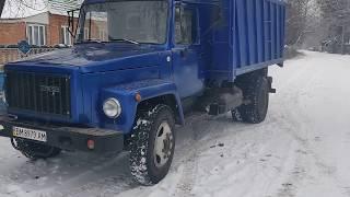 газ 3307  с двигателем mercedes Ом366