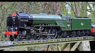 5 inch gauge lner a h peppercorn a1 60144 king s courier live steam locomotive model engineering