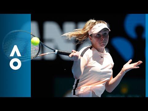 Katerina Siniakova v Elina Svitolina match highlights (2R)   Australian Open 2018