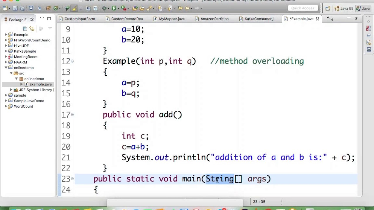 Core Java Programming Tutorial | Part 2 - YouTube