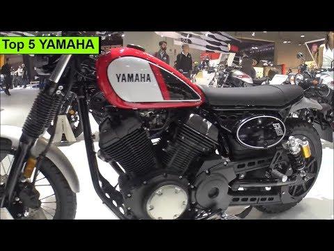 The Top 5 YAMAHA motorcycles 2019