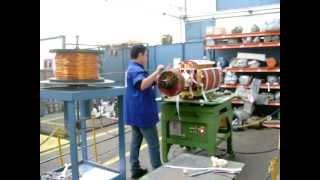 Rebobinagem Rotor Gerador 1800KW