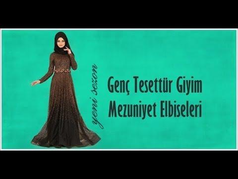 8fcc746591902 Genç Tesettür Giyim 2018 Mezuniyet Elbisesi Modelleri & Hijab ...