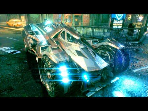 Arkham Knight - Batmobile & Batwing Top Moments