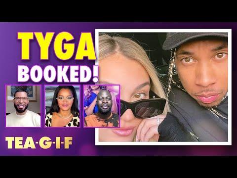Tyga Arrested for Domestic Violence!? | Tea-G-I-F