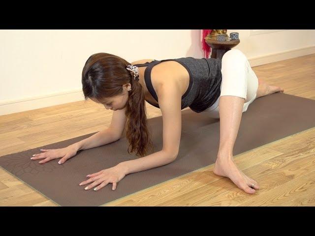 腰痛改善シリーズ~座りっぱなしで固まった腰に~  Yogalog