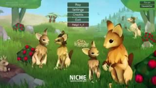 Niche: A Genetics Survival Game / симулятор жизни животных