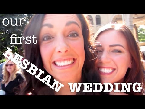 OUR FIRST LESBIAN WEDDING