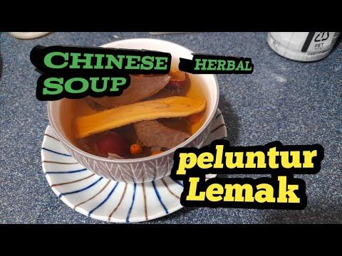 sup herbal china//Ramuan perontok lemak