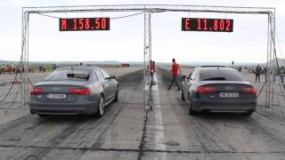 audi a6 3 0 bitdi soft dio performance vs audi s6 4 0 v8 twin turbo 420 hp stoc