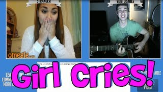 Repeat youtube video Girl Cries On Omegle (Funny Fan Reaction)