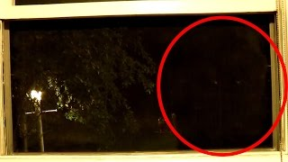 Bigfoot Caught Looking In Window 2015