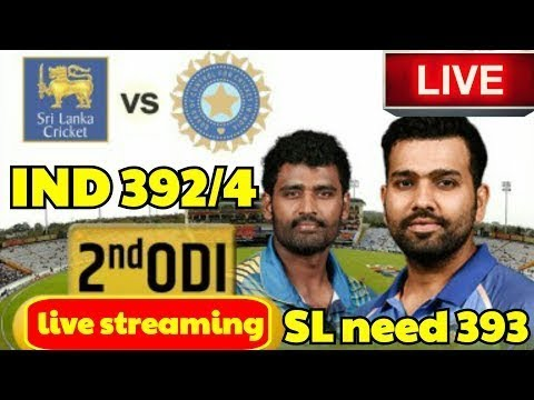 India vs Srilanka: 2nd ODI Live Cricket | Cricket Highlights- Rohit shaarma 208