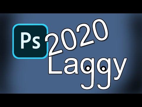 PhotoShop 2020 is Laggy