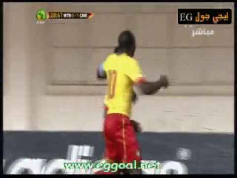 اهداف مباراة موريتانيا 0-1الكاميرون |تصفيات امم افريقيا 2017