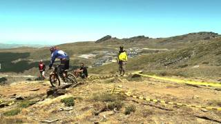 I Copa Bull Bikes de descenso BTT de Sierra Nevada