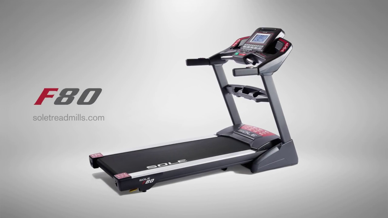 Sole Fitness F80 Tapis De Course Tool Fitness Youtube