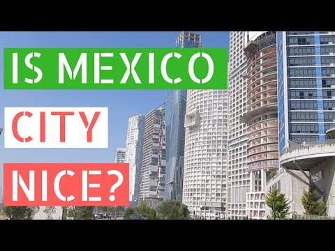 Mexico City's Fanciest Neighborhood? (Santa Fe and Parque la Mexicana)// Gringos in Mexico City Vlog