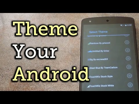 Theming the Android System UI with Theme Engine - Xposed Mod [How-To]