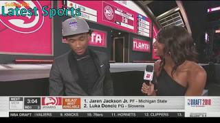 NBA Draft 2018 2nd Pick - Marvin Bagley for the Sacramento Kings (1st Round 2nd Pick Lottery Draft)