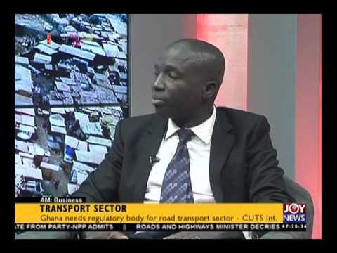 Transport Sector - AM Business on Joy News (22-6-16)