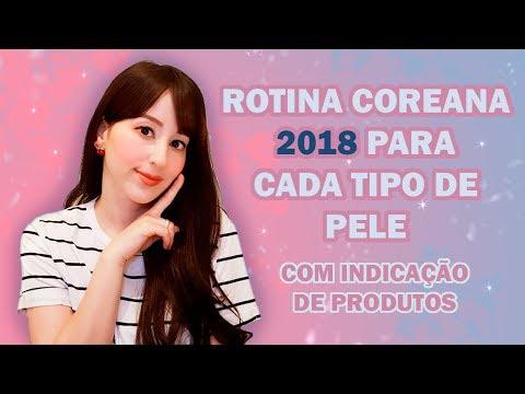 ROTINA COREANA 2018 PARA CADA TIPO DE PELE - BÁSICO (COM PRODUTOS)