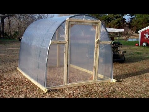 Greenhouse Youtube How To Build A Greenhouse