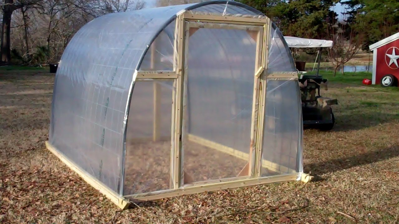 Greenhouse youtube for Build a green home
