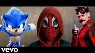 SONIC & Spider-Man - Imagine Dragons - Believer (Music video)