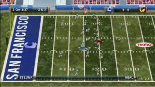 Tecmo Bowl Throwback Online Gameplay