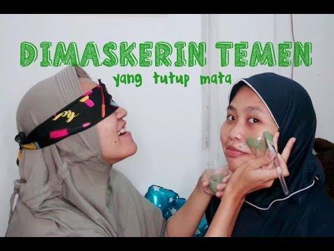 Maskerin Temen sambil Tutup Mata   Brightening & Deep Cleansing Mask Kleveruorganics Review - YouTube