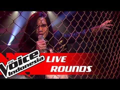 AXL - Arjuna (Dewa 19) | Live Rounds | The Voice Indonesia GTV 2018