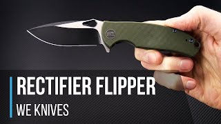 WE Knives Rectifier S35VN G10 Flipper Overview Mp3