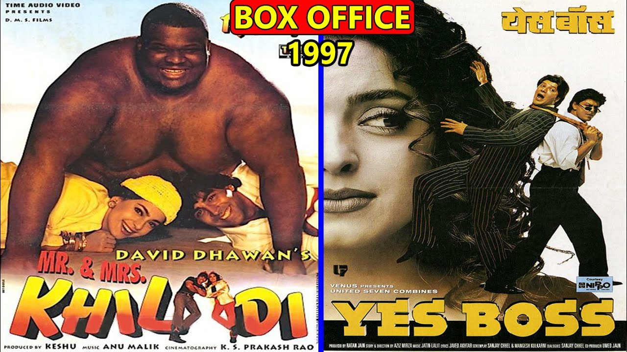 Download Mr & Mrs Khiladi vs Yes Boss 1997 Movie Budget, Box Office Collection, Verdict and Facts