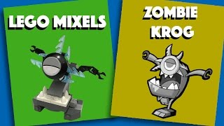 LEGO Mixels - Zombie Krog - Stop Motion Build (How to Build)