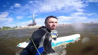 #Виндсерфинг в сильный ветер
