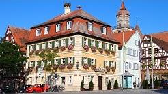 Feuchtwangen, Sehenswürdigkeiten der  Stadt an der Romantischen Strasse - 4k