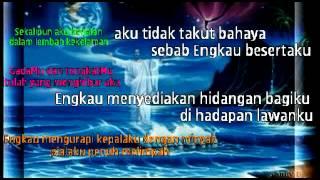 Tilawat Al Zaboor 23/ Mazmur 23 Tuhan Adalah Gembalaku + Lagu Rohani