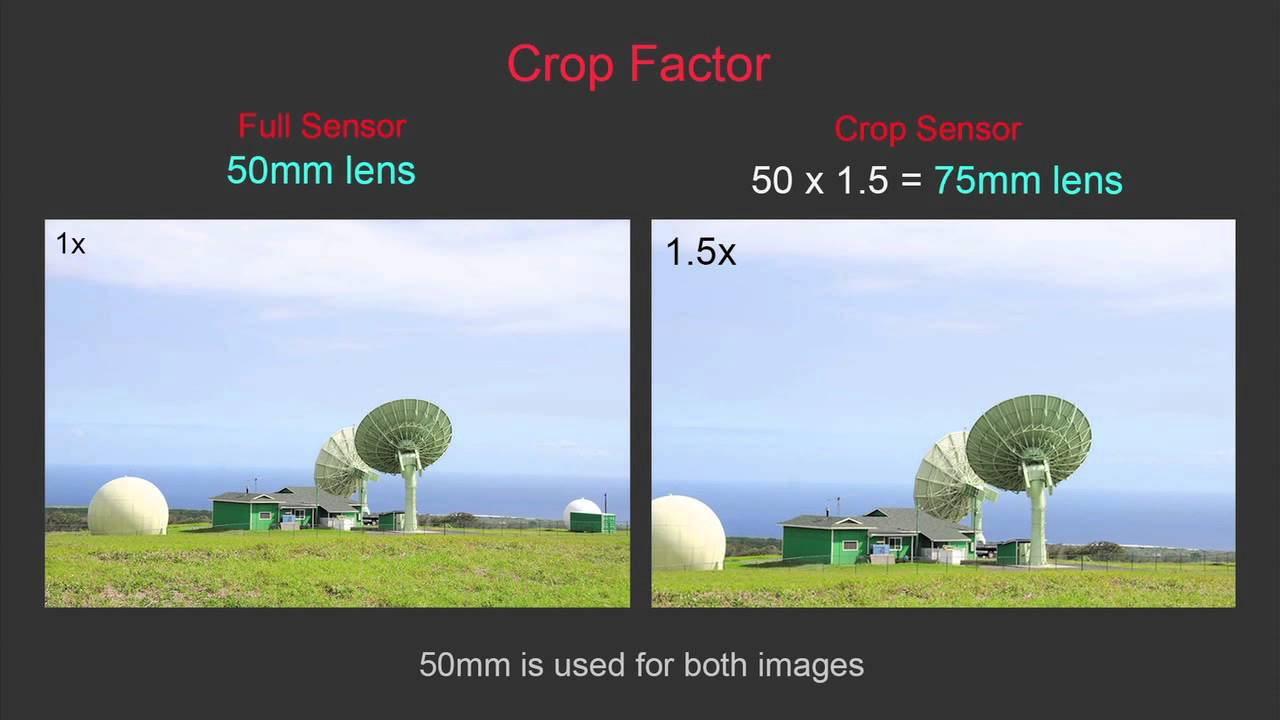 Lesson 21 - Full Frame (FX) vs Crop Sensor (DX) - Nikon D7000 vs ...